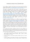 Coronavirus overseas travel quarantine memo