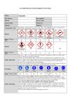 COSHH/DSEAR assessment - concrete